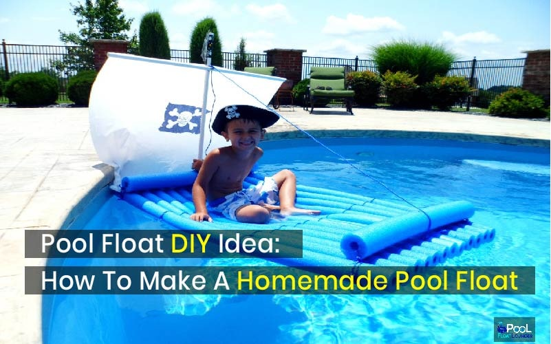 How to make a homemade pool float
