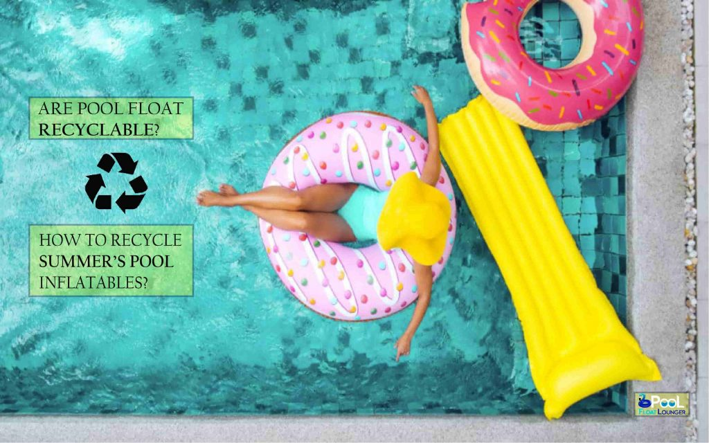 How to recycle summer's pool inflatables