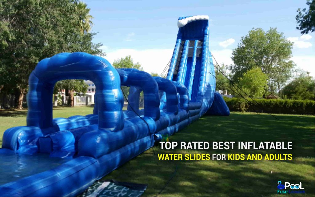 Top Rated Best Inflatable Water Slides For Kids and Adults