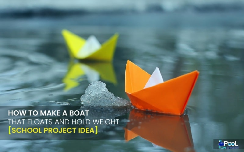 Make a boat that float
